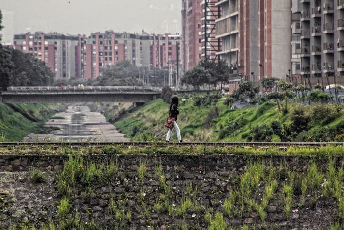 Puente ferroviario convertido en Peatonal.