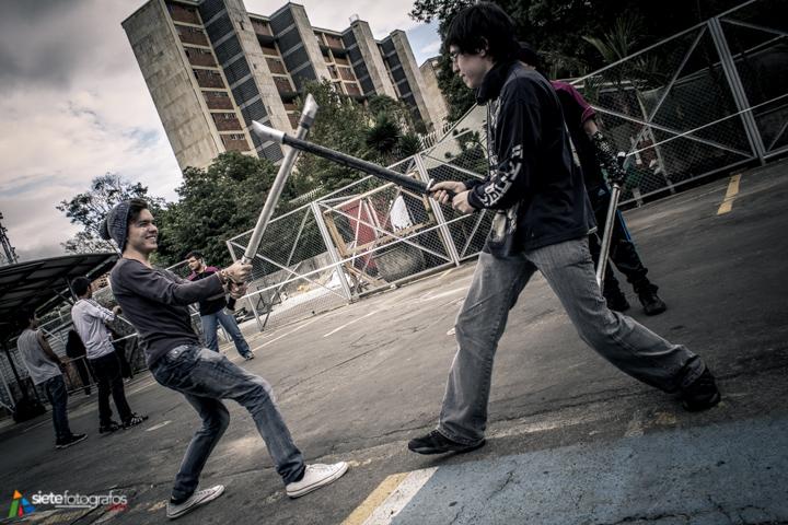 Lucha con armas inofensivas (Softcombat)
