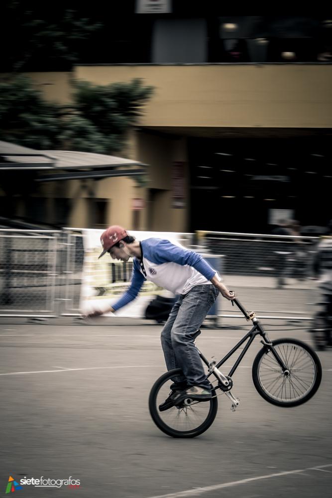 Nuevas formas de montar bicicleta.